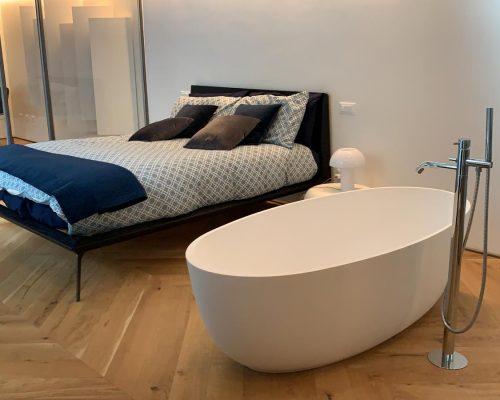 vasca ovale freestanding